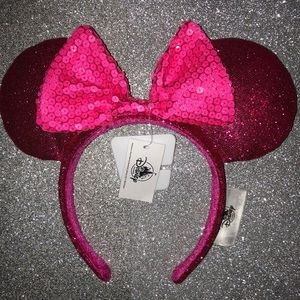 New Disney Parks Imagination Pink Minnie Ears